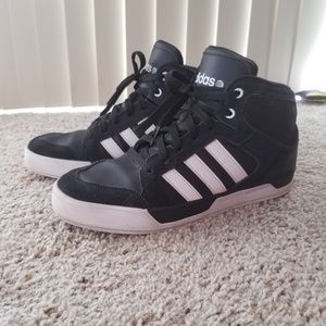 promo code 880a2 8ab71 Adidas NEO Ortholite High Top Sneakers